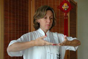 Valéria Sanchez, instrutora de Tai Chi Chuan da Família Yang e diretora do Supremo Tai Chi Chuan