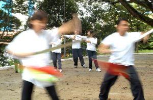 Tai Chi Chuan com armas - sabre e espada