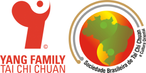 Logotipos Yang Family Tai Chi Chuan Association e SBTCC - Sociedade Brasileira de Tai Chi Chuan