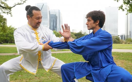 Oportunidade de se aprimorar na prática do Tui Shou.